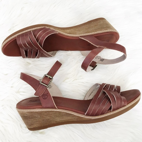 Timberland : Earthkeepers Wollaston Leather Wedges